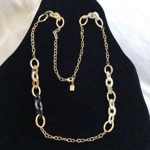 Ralph Lauren Long Tortoise Link Necklace